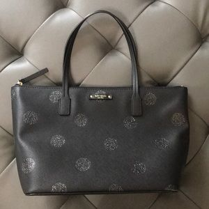 Brand new Kate spade polka dot handbag